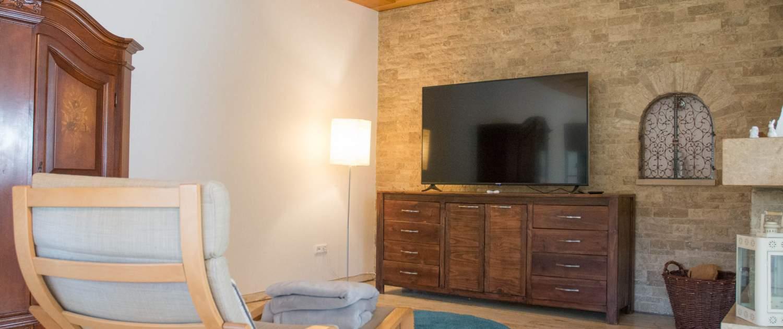 Apartment Hotel Sonneneck Breuna Ess-Wohnzimmer